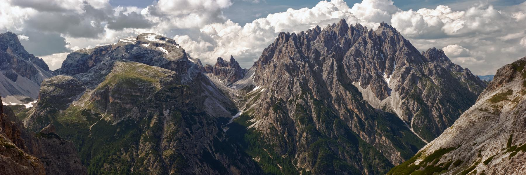 Two Mountains - around Tre Cime di Lavaredo